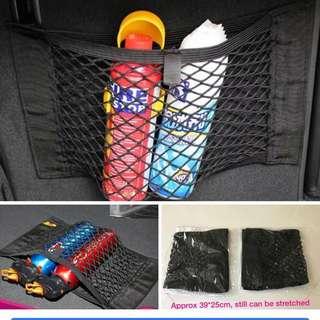 Brand new 2pcs velcro  car net. Good material.