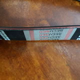 Campro red color indicator v belt