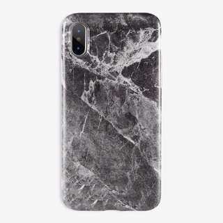 Marble case 2/2 ( Blue and Grey) for IPhone