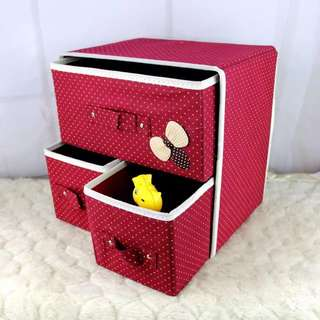 Drawer Foldable Woven Clothing Storage Box