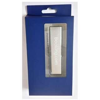 Booking.com 2600mAh Powerbank Portable Electrical external charger 充電器 尿袋
