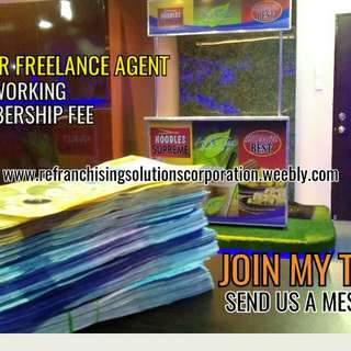 LOOKINF FOR FREELANCE FOODCART AGENT OR PROMOTER