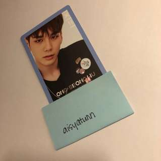 WANNAONE TO BE ONE debut album Ong pc
