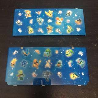 Pokemon New Nintendo 3DS Cover Plates
