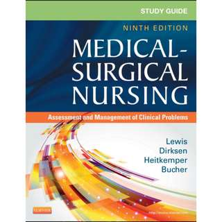 Study Guide for Medical-Surgical Nursing: Assessment and Management of Clinical Problems, Sharon L. Lewis, 9th Edition [PDF]