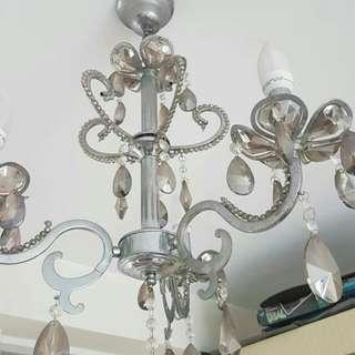掛墙水晶燈