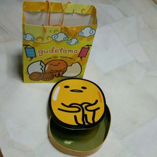 Gudetama Container + Carrier