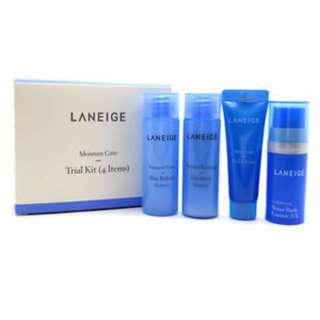 LANEIGE Moisture Care Trial [Sample Kit] (4 Items)