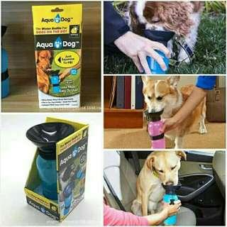 Aqua Dog pet travel drinking bottle