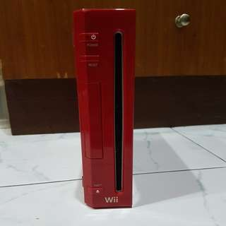 Nintendo Wii Limited Editon (Red)