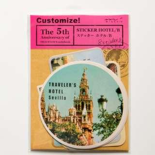 Traveler's Notebook Sticker (Ref No.: 053)