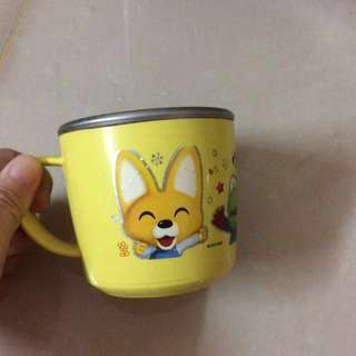 Pororo Small Stainless Steel Cup