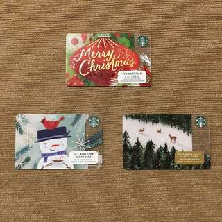 Christmas Starbucks card