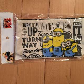 Brand new minion pencil case pencil bag brand new