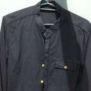 Chinese collar Polo Longsleeves
