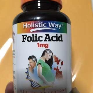 Sealed Folic Acid 1mg
