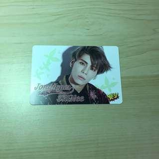 鐘鉉@SHINee 29期yes card 夜光
