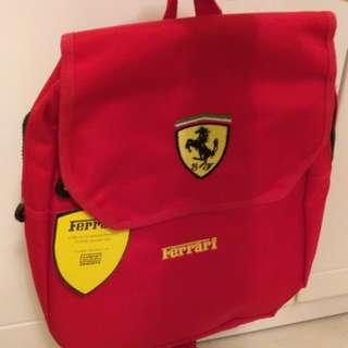法拉利 Ferrari 全新絕版小背囊 紀念版 收藏 backpack