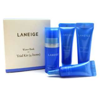 LANEIGE Water Bank Trial 4Items [Sample Kit]