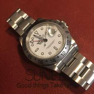 Rolex 16570 全鋼手錶