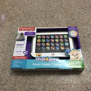 Brand new fisher price smart stages tablet