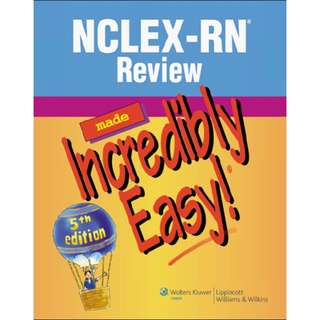 NCLEX-RN Review Made Incredibly Easy!, 5th Edition [PDF]