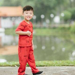 CNY Chinese Boy's Suit (4 – 7Y)