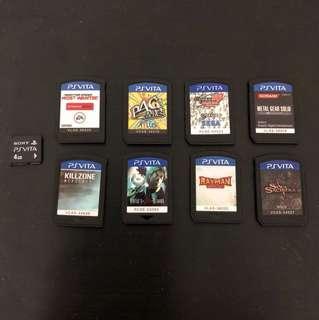 PS Vita Games for sale!