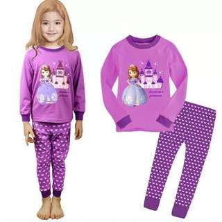 Sofia pyjamas For Age 4-7 yrs Old