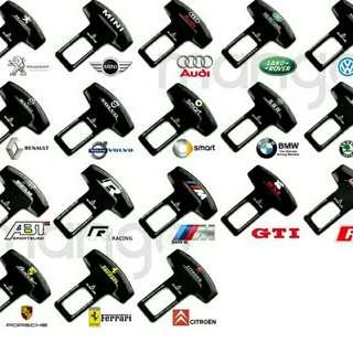 全車系品牌通用安全帶插 有需要哪款請PO款示給我 賴lucky2200(小培) FB:南部雜貨舖