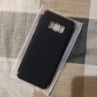 SAMSUNG GALAXY S8 plus Black gold Casing