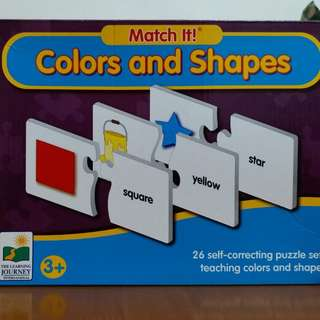 Early Learning game:  Numbers jigsaw puzzle