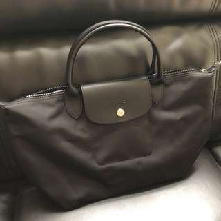Longchamp bag in black color