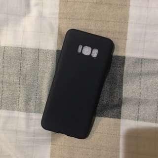 SAMSUNG GALAXY S8 plus Black matte casing
