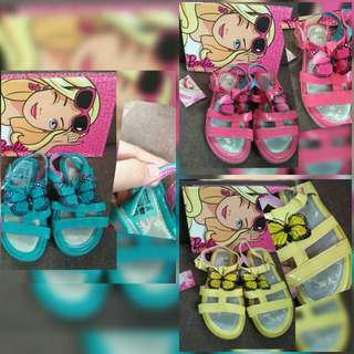 Barbie butterfly sandals size:8,9,10,12,13