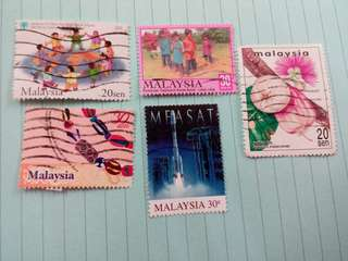 Malaysia Stamps #023