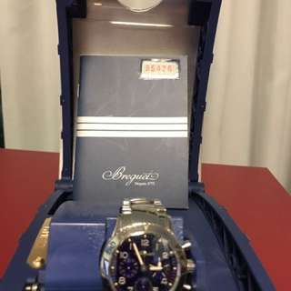 Breguet3807STJ2/SW9AeronavaleTYPEXX藍色錶盤日本限量版1000只