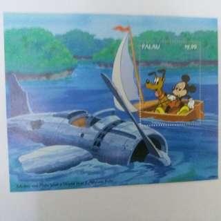 📮絕版限量米奇老鼠卡通郵票