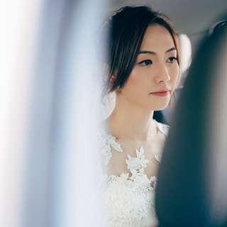 Actual Day Bridal Hair & Makeup
