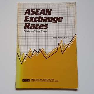 ASEAN Exchange Rates Policies and Trade Effects