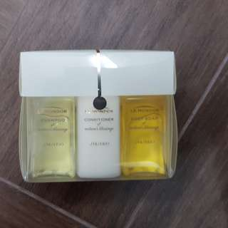 BNIP Shiseido travel set