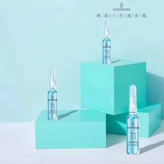 😍正韓-cosmetea燈泡小安瓶精華液•玻尿酸補水
