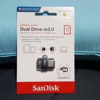 Sandisk Ultra Dual Drive 3.0 (32GB)