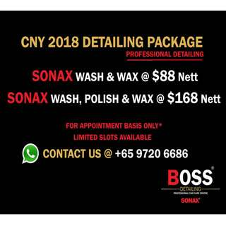 SONAX CARWASH POLISH WAX