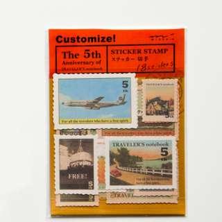 Traveler's Notebook Sticker (Ref No.: 059)