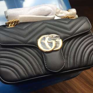 Gucci GG Marmont chain shoulder bag