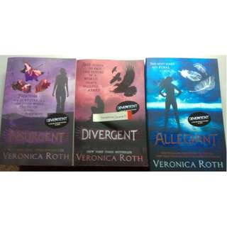 New Divergent Trilogy Set