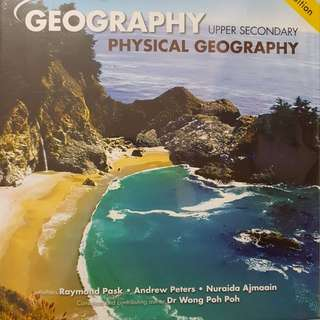 Brand new Pure Geography Textbooks (with plastic cover)