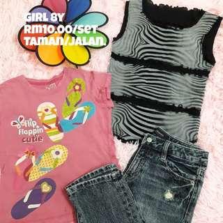 Shirt And Pants GIRL 8y