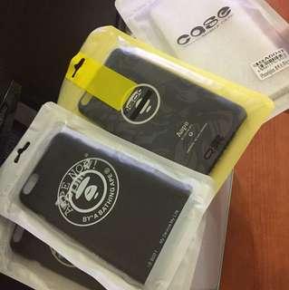 Iphone6plus手機aape硬。透明軟殼